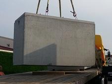 stockao cuve b ton 4000 litres de faible hauteur pour l. Black Bedroom Furniture Sets. Home Design Ideas